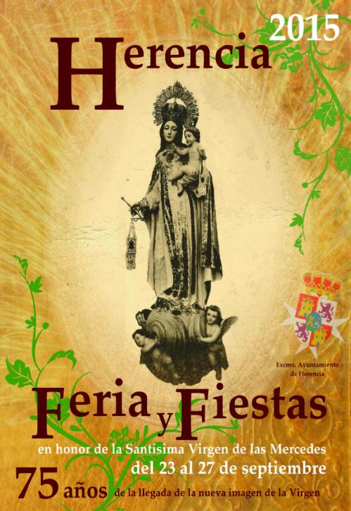 Cartel de la Feria y Fiestas