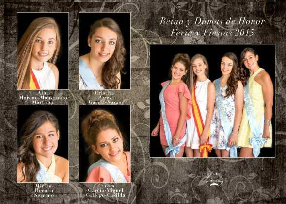 Reina y damas de las ferias y fiestas1 590x420 - Feria y Fiestas de Herencia en imágenes