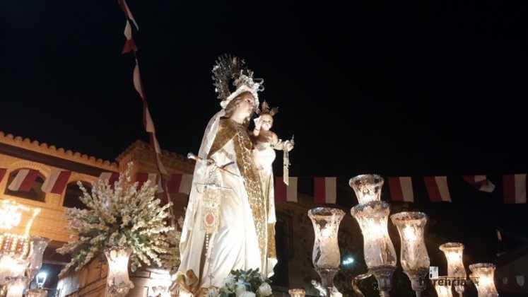Virgen de las Mercedes 747x420 - Feria y Fiestas de Herencia en imágenes