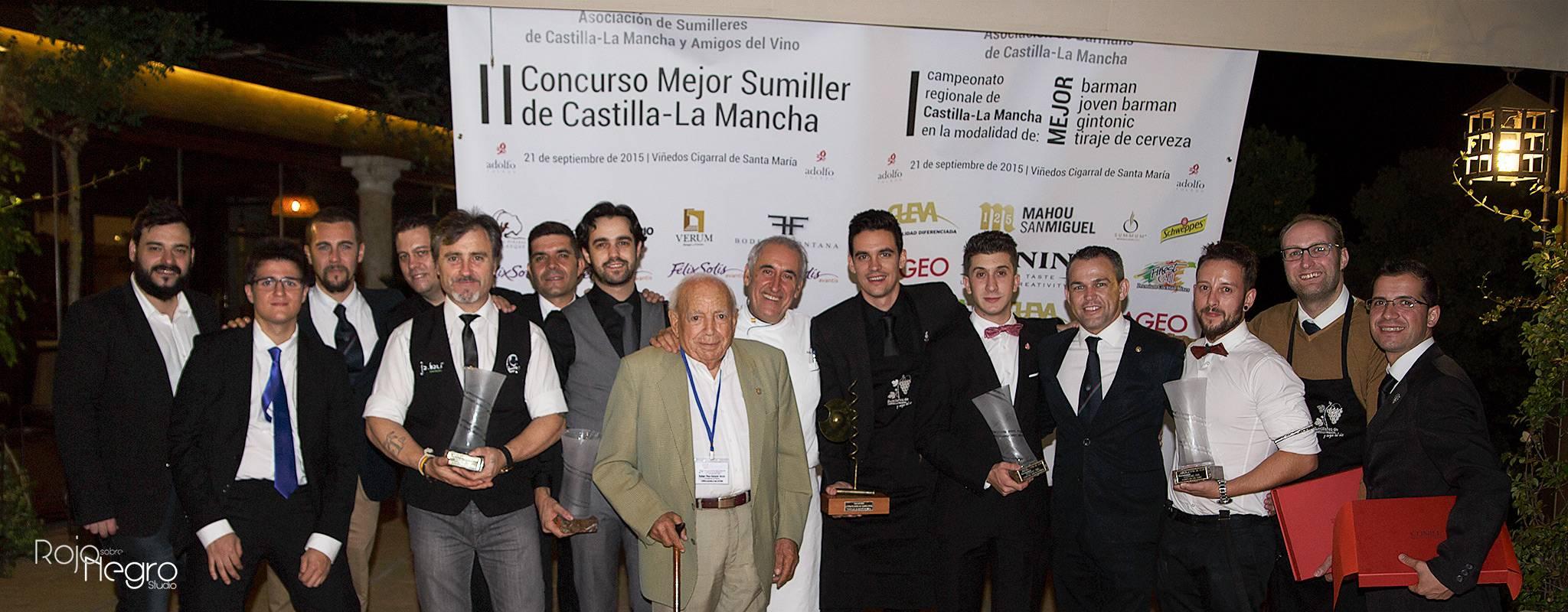 concurso fotos mejor sumiller clm 1 - Ángel Luis Privado de Jabalí Gastro, mejor Tiraje de Cerveza de Castilla-La Mancha