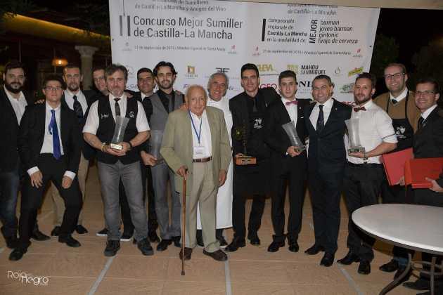 concurso fotos mejor sumiller clm 2 630x420 - Ángel Luis Privado de Jabalí Gastro, mejor Tiraje de Cerveza de Castilla-La Mancha