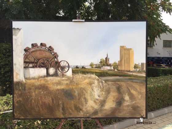 cuarto premio ix pintura rapida 20151 560x420 - Feria y Fiestas de Herencia en imágenes