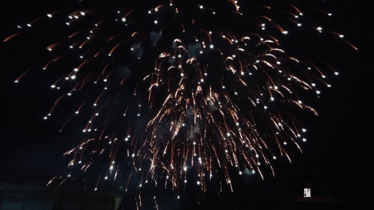 fuegos artificiales 747x420 - Feria y Fiestas de Herencia en imágenes