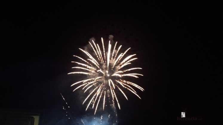 fuegos artificiales de la feria de Herencia 747x420 - Feria y Fiestas de Herencia en imágenes