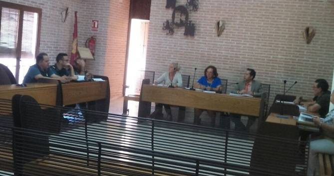 Reunida la junta local de seguridad de Herencia 1