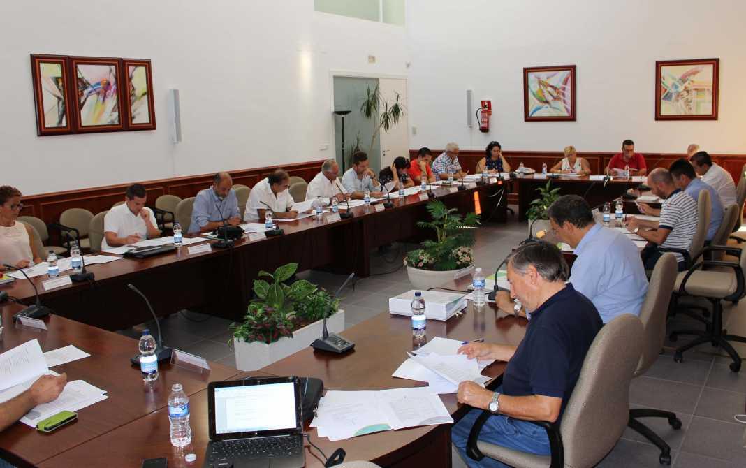 pleno comsermancha septiembre 01 1068x670 - José Ángel Romero miembro de varias comisiones de Comsermancha