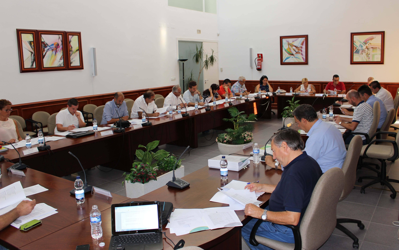 pleno comsermancha septiembre 01 - José Ángel Romero miembro de varias comisiones de Comsermancha