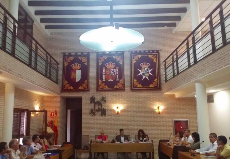 pleno municipal de Herencia de septiembre de 2015