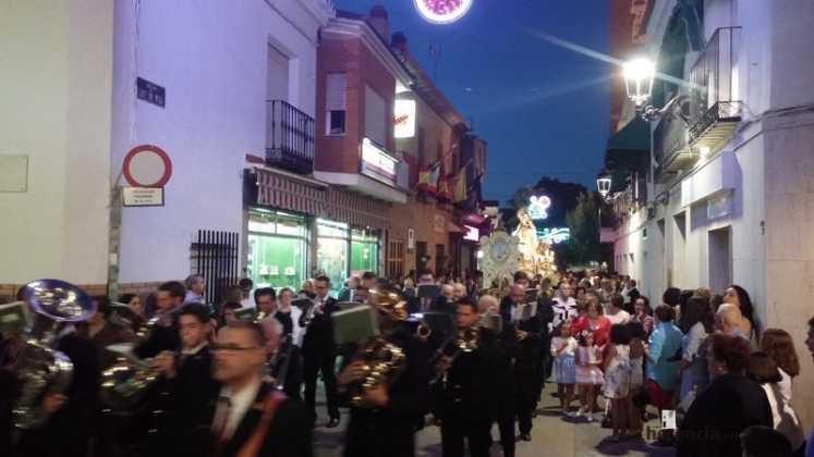 procesión de La Hermosona 747x420 - Feria y Fiestas de Herencia en imágenes