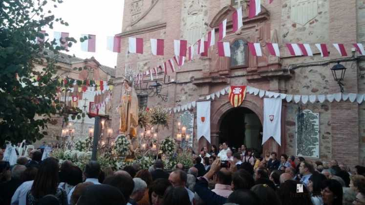 procesión de la Virgen de las Mercedes 747x420 - Feria y Fiestas de Herencia en imágenes