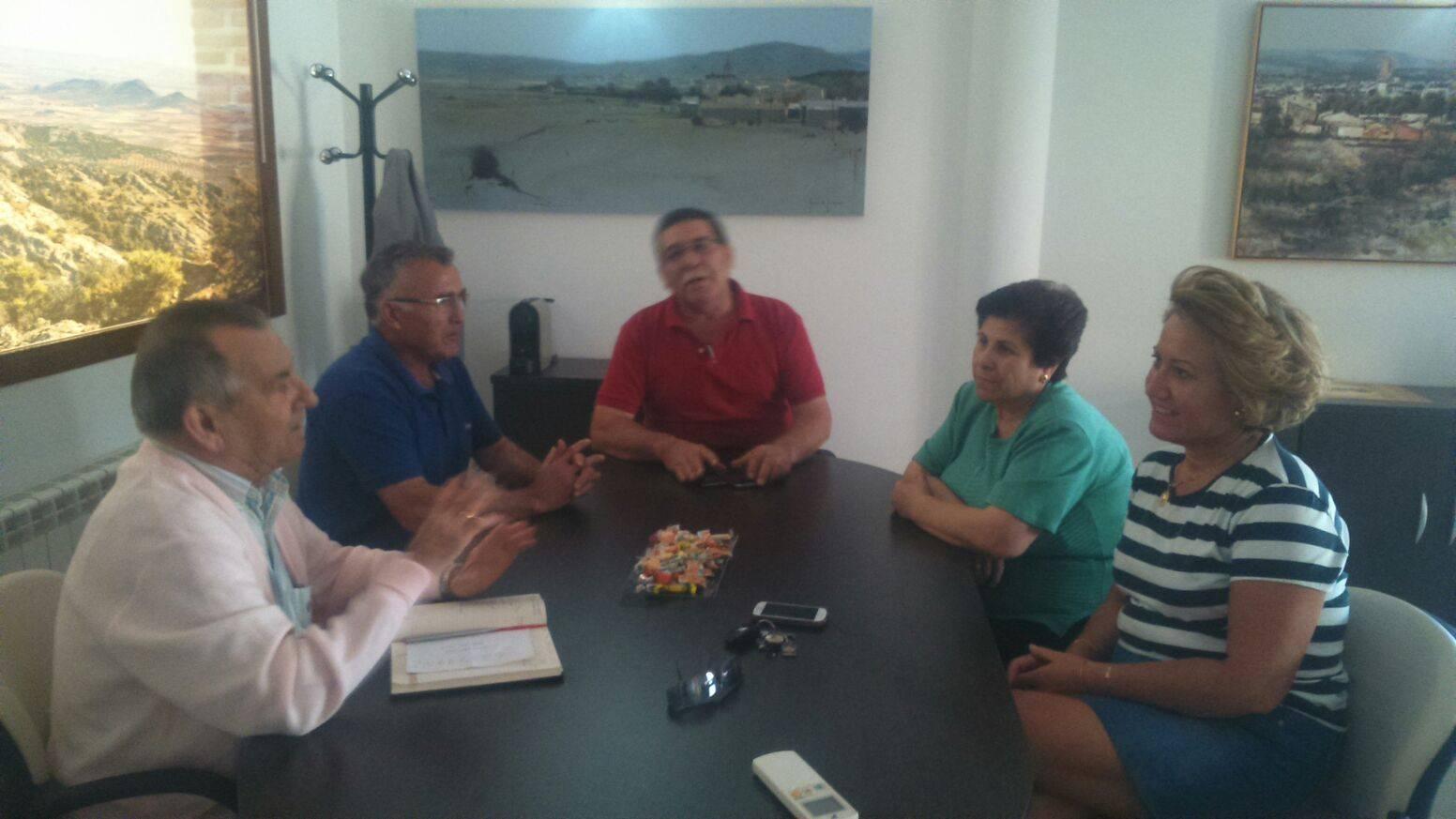 reunión presupuesto de barrio herencia