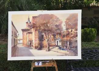 segundo premio ix pintura rapida 2015
