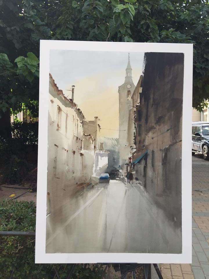 tercer premio ix pintura rapida 2015