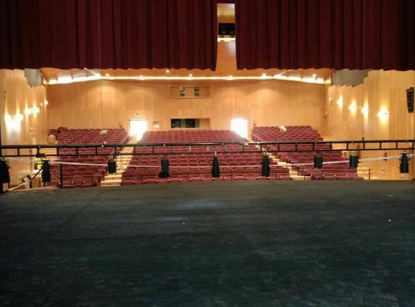 Auditorio Municipal de Herencia. Foto v%C3%ADa twitter - Juan D y Beatriz actuarán en el auditorio cubierto de Herencia