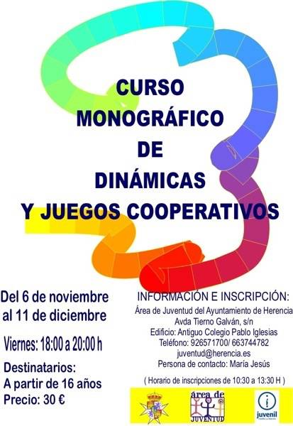 Curso de dinámicas - Curso Monográfico de Dinámicas y Juegos Cooperativos