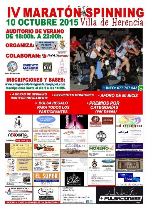 "IV Maratón de Spinning ""Villa de Herencia"""