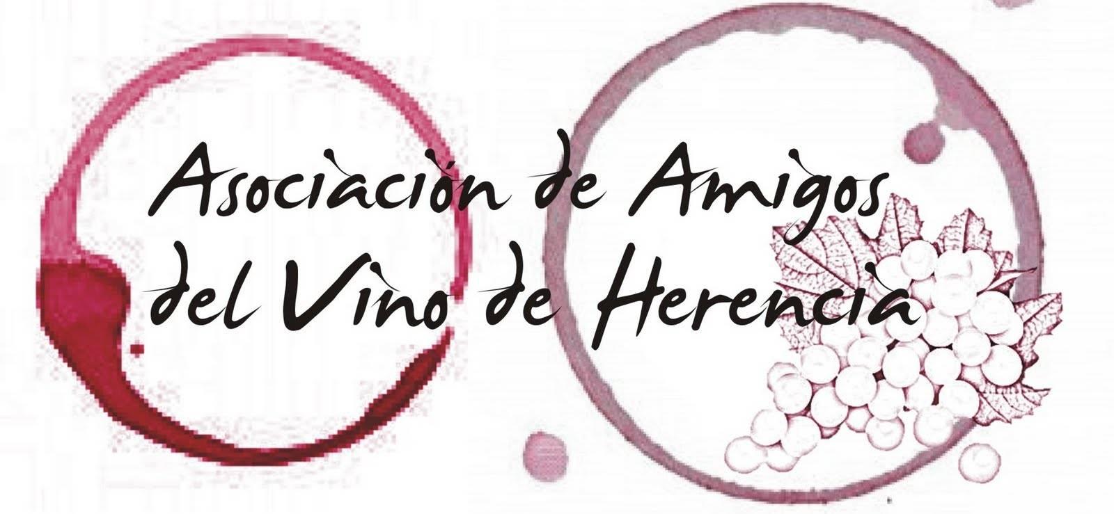 Logotipo amigos del vino - La V Ruta del Vino y la Tapa de Herencia comienza el 15 de abril