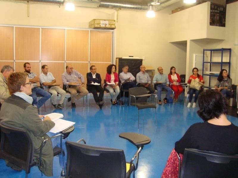 Promancha organiza una mesa del sector agroalimentario en Herencia 1