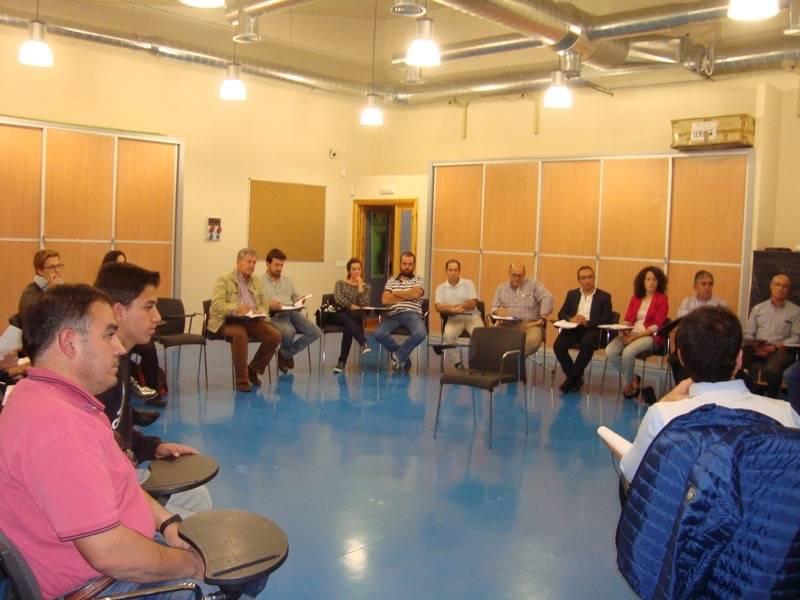 Mesa agroalimentaria de Promancha en Herencia 2 - Promancha organiza una mesa del sector agroalimentario en Herencia