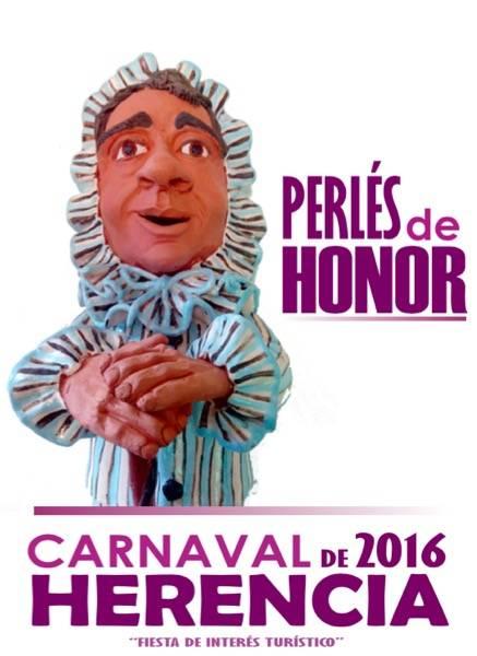 Perlé de Honor carnaval de Herencia - Los Perles 2016 del Carnaval de Herencia buscan candidatos