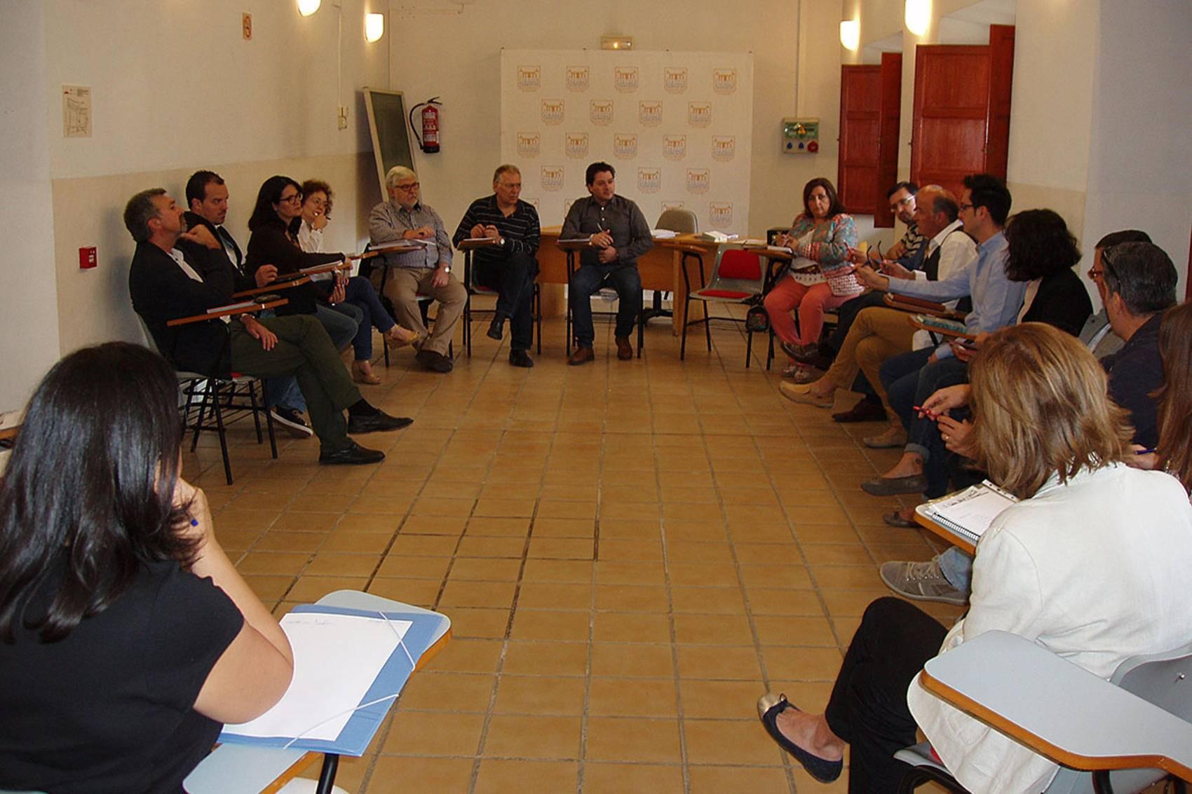 Reunión mantenida en Almagro para analizar los convenios culturales de la Diputación Provincial de Ciudad Real