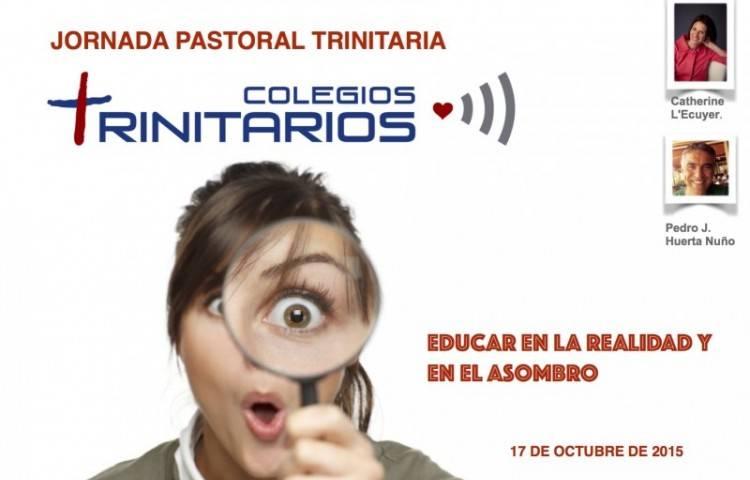cartel jornada de pastoral 1 - Herencia acogió una jornada nacional de colegios trinitarios