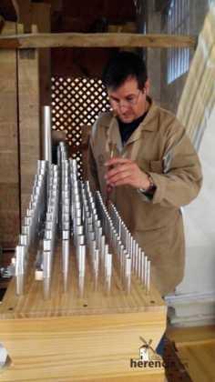 Restaurado el órgano parroquial. Entrevista a Eduardo Bribiesca Fernández organero 3