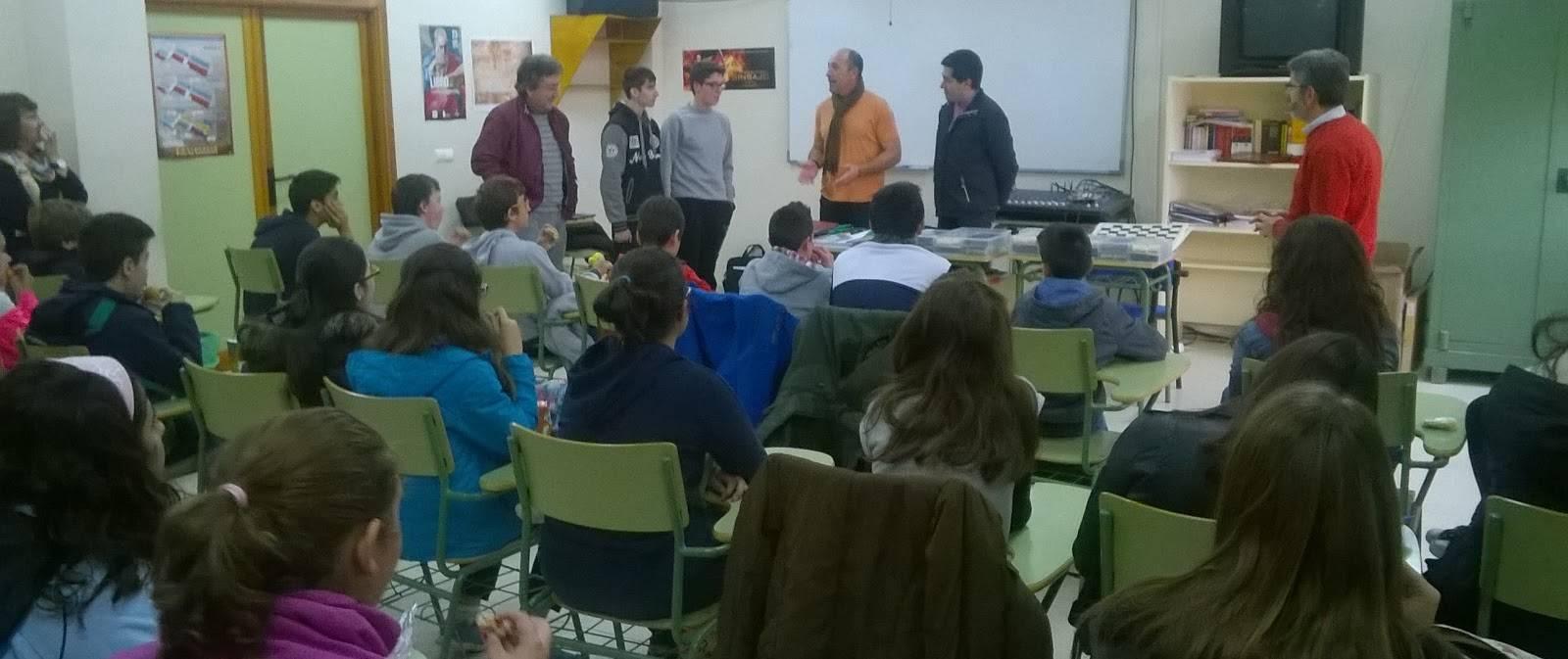 El AMPA Jesús Ruiz colabora con el club de ajedrez del grupo Athropos de Herencia1