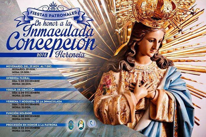 Festividad de la Inmaculada Concepción - Actos religiosos y festivos con motivo de la Inmaculada Concepción