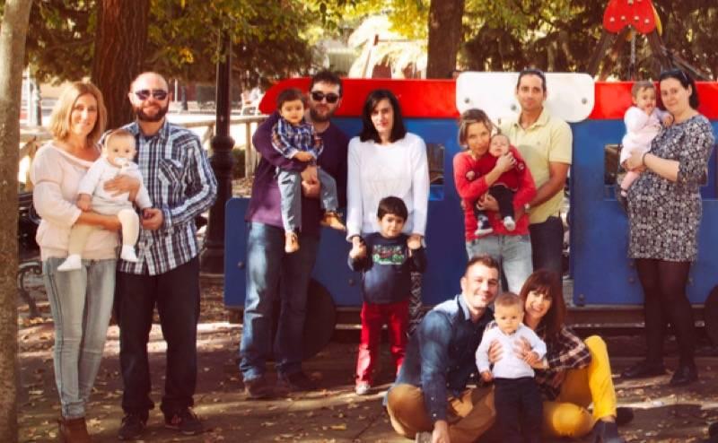 Miembros del Grupo de Apoyo a la Lactancia Materna de Herencia 2015