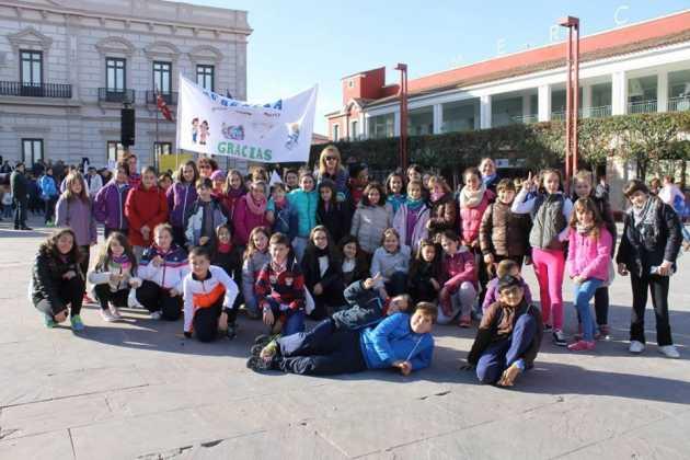 Niños y niñas de Herencia en el VII Encuentro de Infancia Misionera