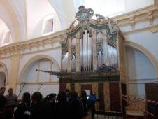 Misa de bendicion de los trabajos de restauracion y reconstruccion del organo barroco de Herencia