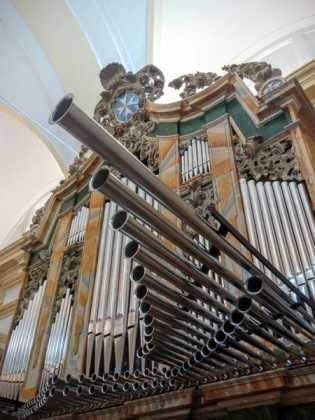 Misa de bendicion de los trabajos de restauracion y reconstruccion del organo barroco de Herencia 4 315x420 - El órgano barroco de Herencia vuelve a sonar 75 años después