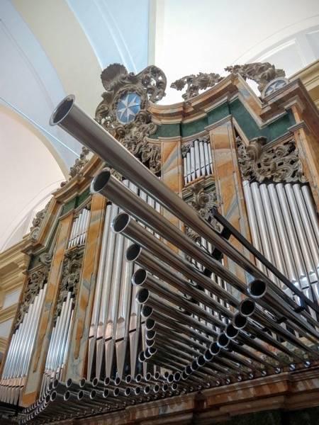 Misa de bendicion de los trabajos de restauracion y reconstruccion del organo barroco de Herencia 4 - Un grupo de Madrid visitará el órgano histórico parroquial
