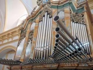 Misa de bendicion de los trabajos de restauracion y reconstruccion del organo barroco de Herencia 5 320x240 - Herencia se suma a la IV Ruta de Órganos Históricos de Castilla-La Mancha