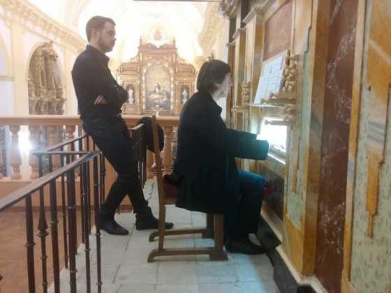 Misa de bendicion de los trabajos de restauracion y reconstruccion del organo barroco de Herencia 7 560x420 - El órgano barroco de Herencia vuelve a sonar 75 años después