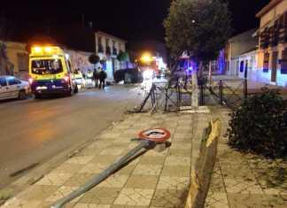 accidente de coche en villafranca