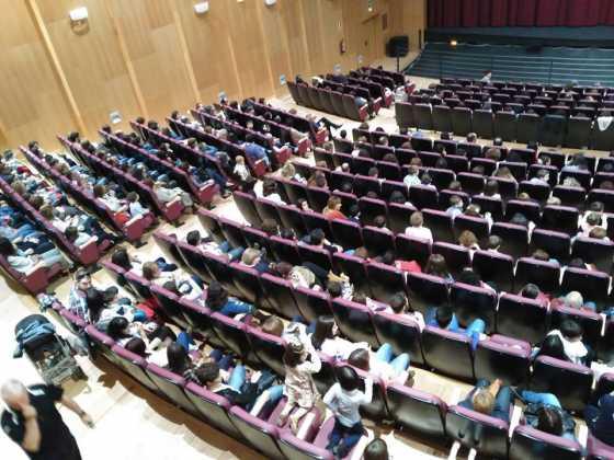 apertura auditorio de Herencia foto ayuntamiento de Herencia 1 560x420 - El auditorio de Herencia abre sus puertas por primera vez