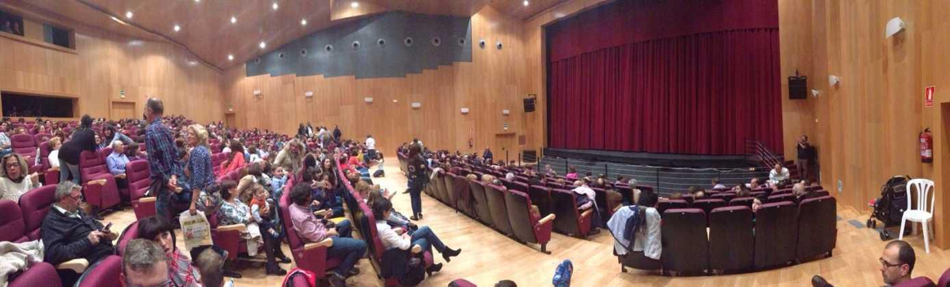 El auditorio de Herencia abre sus puertas por primera vez 1