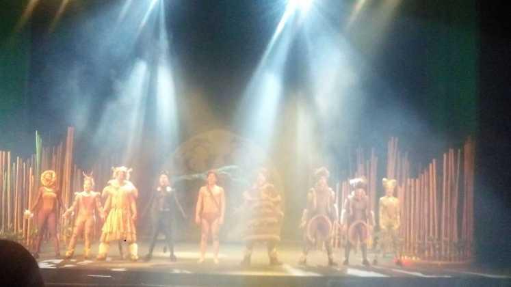 apertura del auditorio de Herencia con el musical El Libro de la Selva 3 747x420 - El auditorio de Herencia abre sus puertas por primera vez