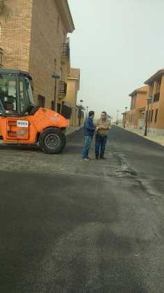 Asfaltado de calles en nuestra localidad 13