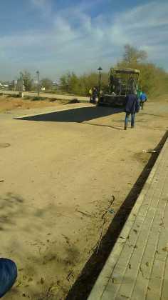 Asfaltado de calles en nuestra localidad 6