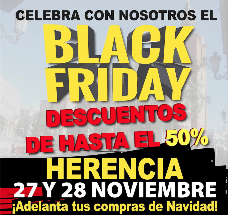 blackfriday en herencia - Herencia también disfrutará de su Viernes Negro