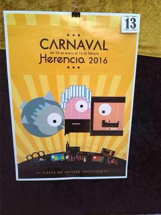 carteles concurso cartel de carnaval de herencia 2016 1 315x420 - Ya puedes ver los Carteles de Carnaval 2016