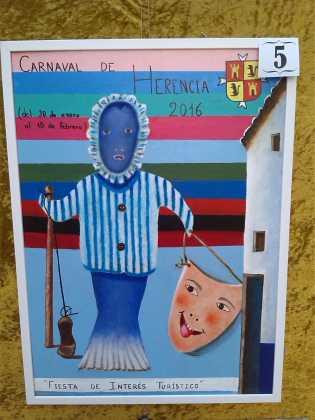 carteles concurso cartel de carnaval de herencia 2016 10 315x420 - Ya puedes ver los Carteles de Carnaval 2016