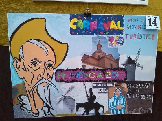 carteles concurso cartel de carnaval de herencia 2016 12 560x420 - Ya puedes ver los Carteles de Carnaval 2016