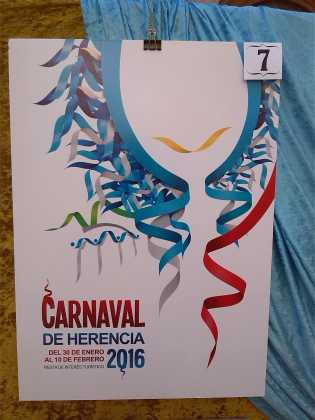 carteles concurso cartel de carnaval de herencia 2016 3 315x420 - Ya puedes ver los Carteles de Carnaval 2016