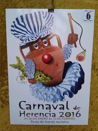 carteles concurso cartel de carnaval de herencia 2016 7 315x420 - Ya puedes ver los Carteles de Carnaval 2016