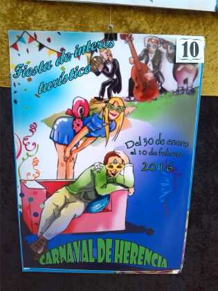 carteles concurso cartel de carnaval de herencia 2016 8 315x420 - Ya puedes ver los Carteles de Carnaval 2016