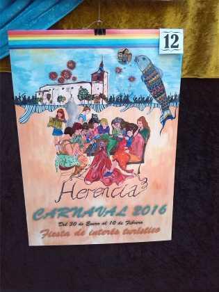 carteles concurso cartel de carnaval de herencia 2016 9 315x420 - Ya puedes ver los Carteles de Carnaval 2016